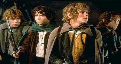 Gli Hobbit nel Signore degli Anelli