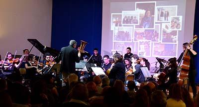 Concerto di NAtale al Chris Cappell College di Anzio