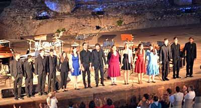 Il Chris Cappell al Teatro Greco di Taormina