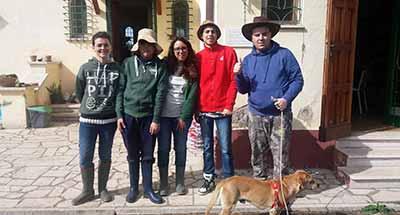 Gli studenti disabili alla Fattoria didattica Riparo