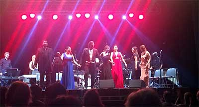 West Side Story, concerto a Villa Adele