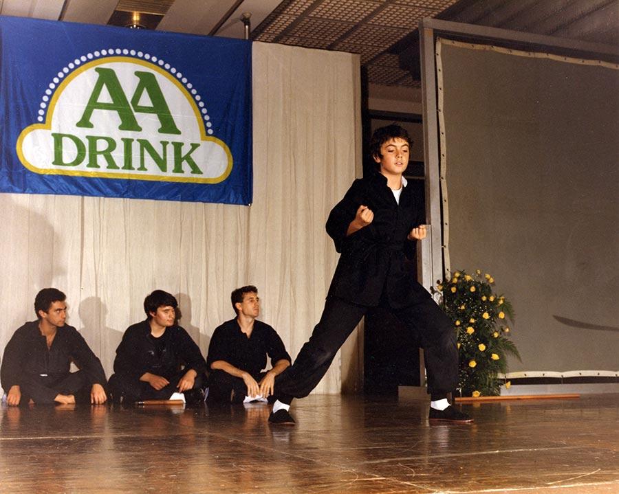 Esibizione Kung Fu